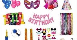 HOUZPARTY DIY Boys Birthday Party Decoration Box