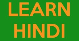 Learn to Speak Read Write Hindi