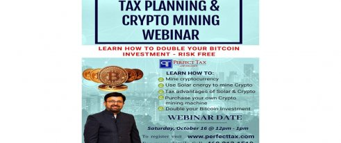 Tax Planning & Crypto Mining Webinar