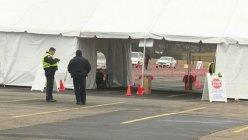 Garland Drive-thru COVID-19 vaccine site opens at the football stadium