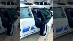 Newly sworn-in Dallas Police Chief Eddie Garcia goes out on patrol