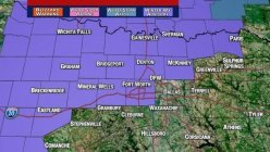 Winter Weather Advisory starts Tuesday night as North Texas preps for freezing rain overnight till Wednesday Morning