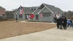 North Texas Army veteran moved into a mortgage-free smart home with his family