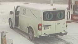 Funeral home van with body inside stolen from a convenience store in Missouri