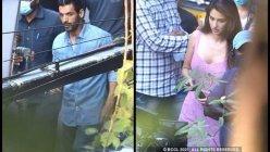 John Abraham and Disha Patani clicked shooting for 'Ek Villain Returns'