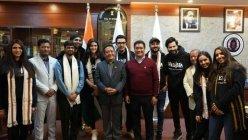 Varun Dhawan, Kriti Sanon meet Arunachal Pradesh CM before shooting for their film 'Bhediya'