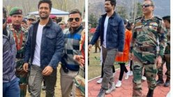 Vicky Kaushal visits Uri Base Camp in Kashmir.It is the biggest honour for me, says actor