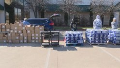North Texas organizations continuing to help families in need of basic necessities.