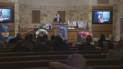 North Texas Radio personality Russ Martin remembered at funeral