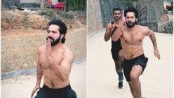 Varun Dhawan prepping hard for his upcoming film 'Bhediya'