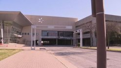 Dallas Community show support for migrant teens at Dallas convention center
