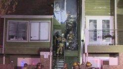 Fire damages under construction Condo building again