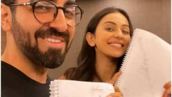 Ayushmann Khurrana and Rakul Preet Singh begin reading script for their upcoming film, 'Doctor G'