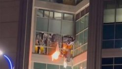 Riot broke out at a St. Louis jail Sunday night with inmates breaking windows