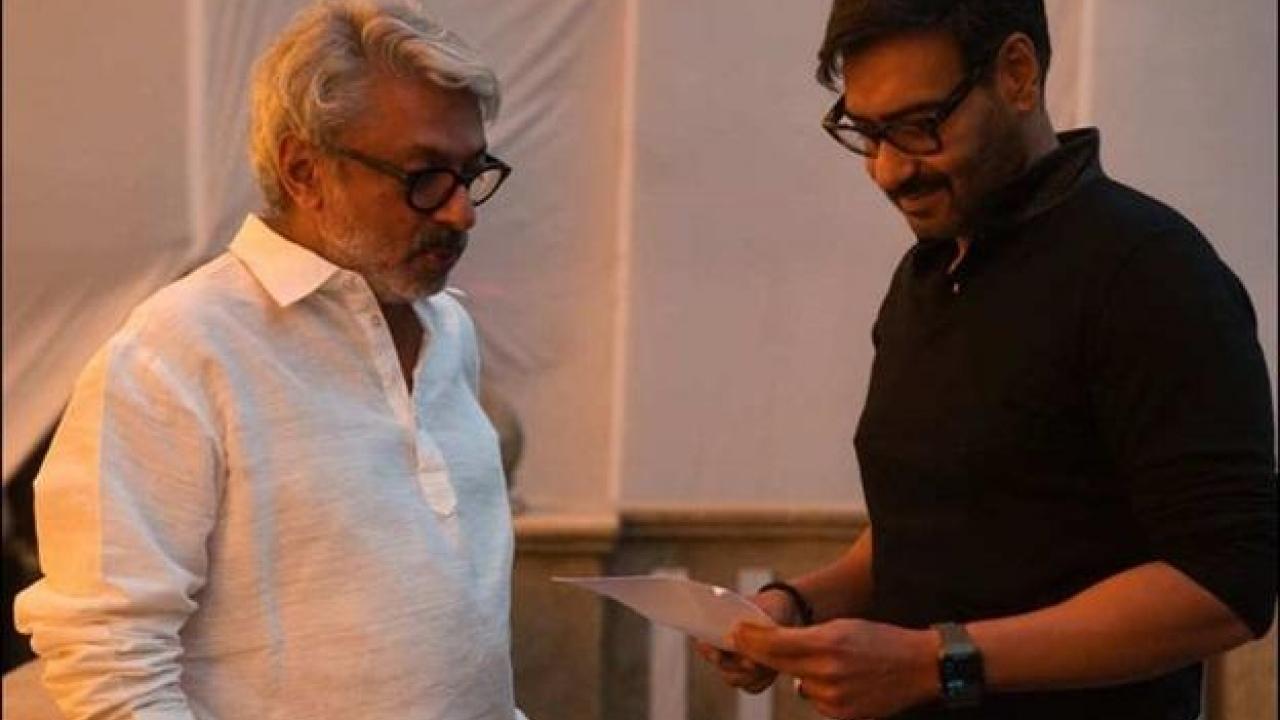 Ajay Devgn wraps up shooting for Gangubai Kathiawadi