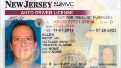 New Jersey started offering the Gender 'X' option on driver licenses