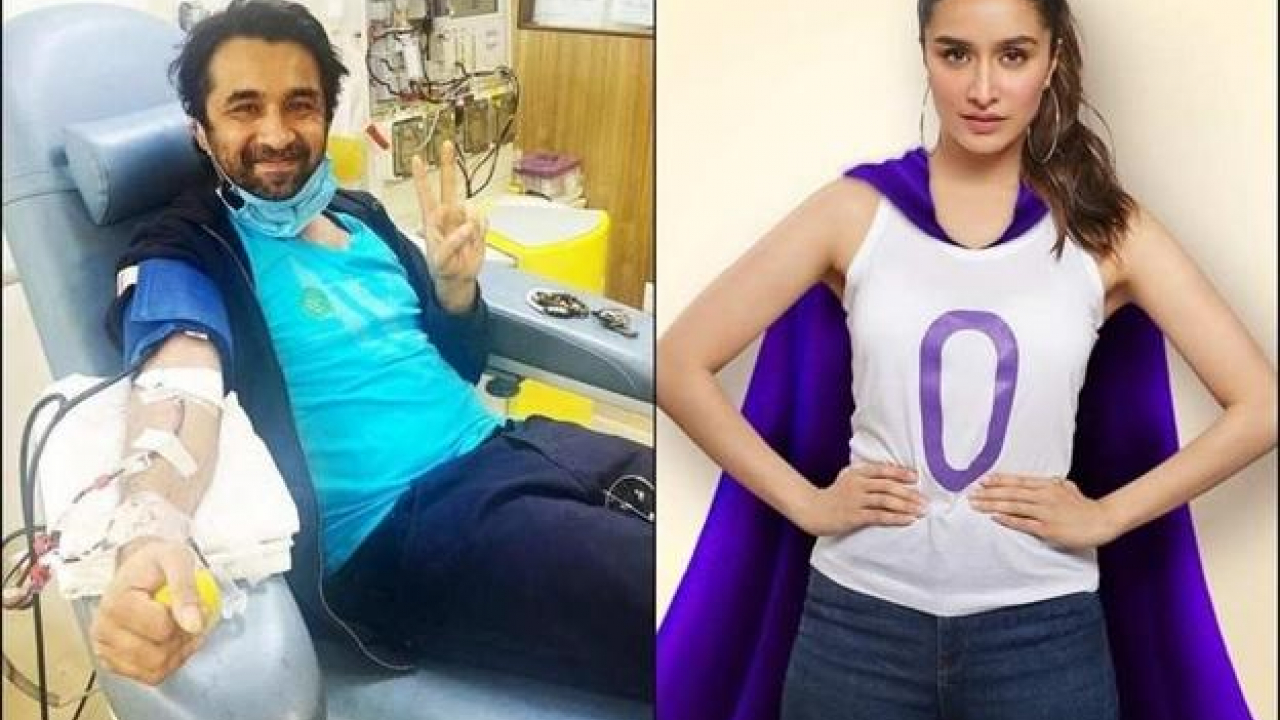 Shraddha Kapoor's brother Siddhanth donates plasma and urges people to come ahead and donate if eligible