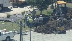 Frisco: Several roads shut down and homes evacuated because of a natural gas leak