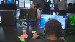 Arlington PD holds gaming event to connect officers with kids in their community
