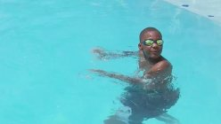 A 13-year old saves a toddler from drowning at a pool party