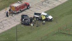 Texas: Four die in two-vehicle crash outside Springtown