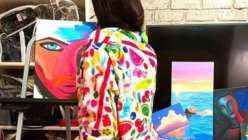 Janhvi Kapoor's painting skills reminded Dia Mirza of her mother