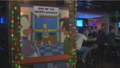 Simpsons-themed pop-up bars opened in Dallas