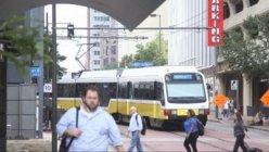 DART light rail celebrated its 25th anniversary on Monday