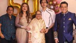 Govinda hosts wife Sunita Ahuja's birthday bash, actors Shakti Kapoor, Udit Narayan join the celebration