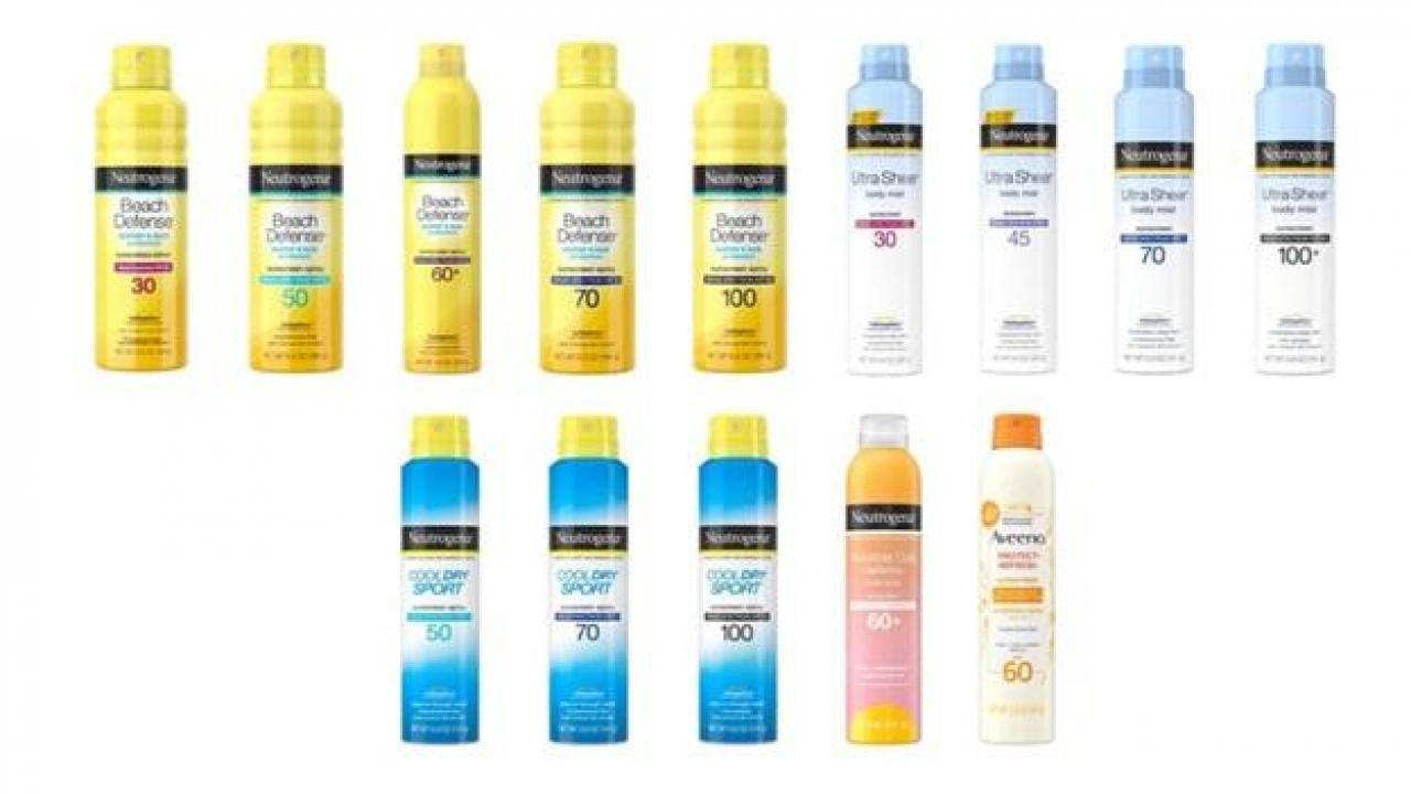 Johnson & Johnson recalls sunscreens due to presence of benzene