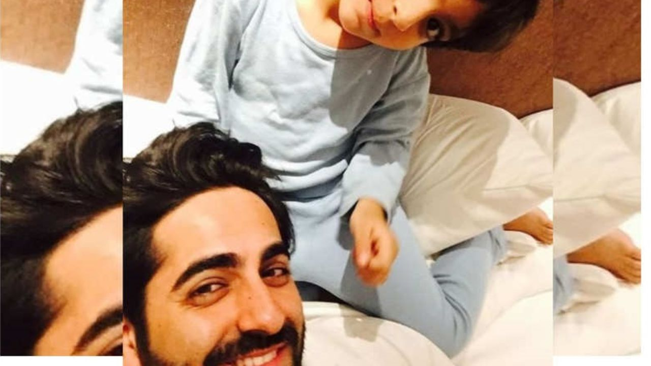 THIS throwback picture of Ayushmann Khurrana and his son Virajveer will make your day!