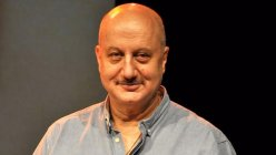 While traveling across the Atlantic Ocean, Anupam Kher announces his 519th film by sharing a little video.