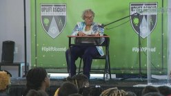 Fort Worth grandmom who pushed to make Juneteenth a federal holiday talks to students