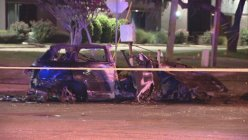 Fiery crash in Dallas that led to 3 deaths, 2 injuries investigated as street racing