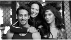 Tiger Shroff and his family — father Jackie Shroff, mother Ayesha Shroff and sister Krishna Shroff moved to their new house