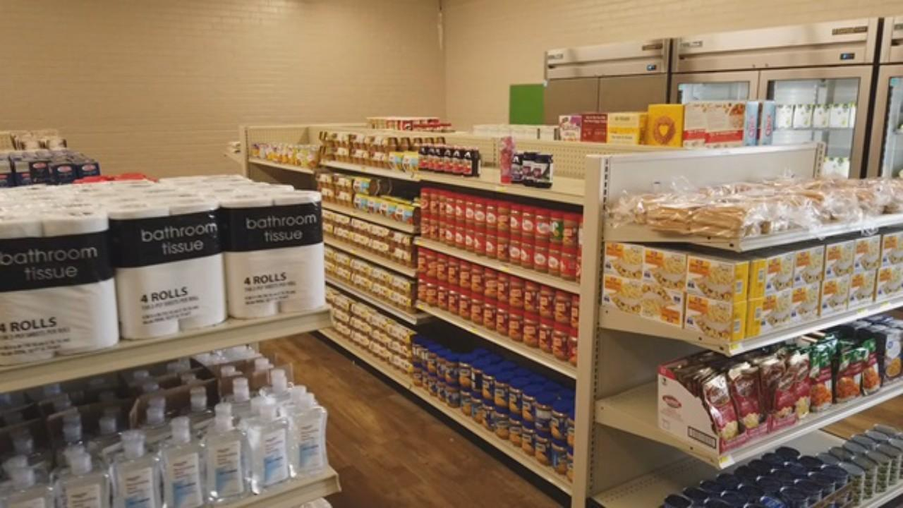 Student-run grocery store inside Sanger ISD high school to better serve its  community