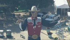 Maskless 55-ft tall Big Tex returns to his spot at State Fair of Texas