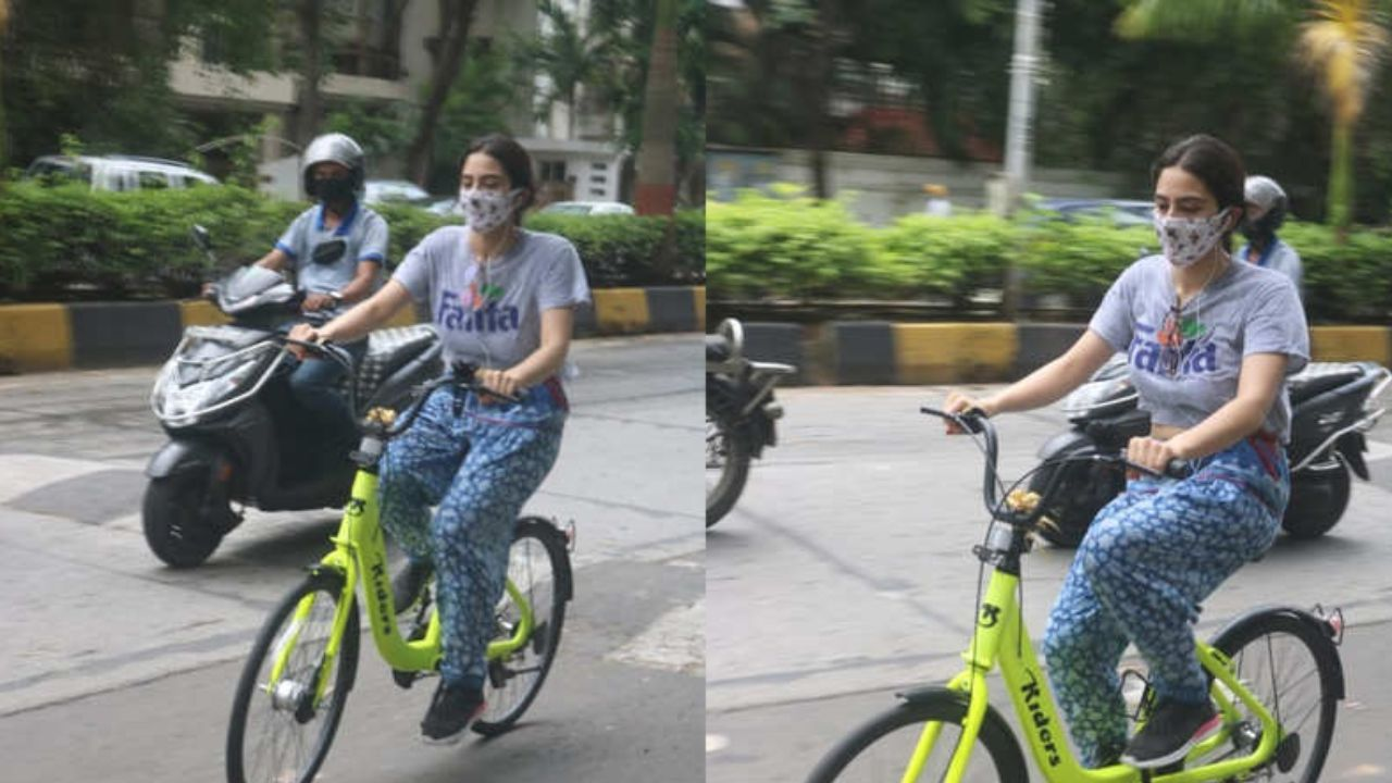 Sara Ali Khan shares her fitness regime during the pandemic, gets snapped in the city
