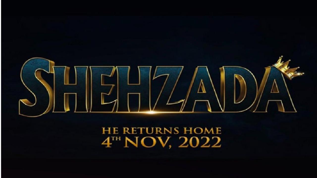 Bhushan Kumar's Shehzada will get released on November 4, 2022, according to Kartik Aaryan and Kriti Sanon.