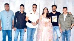 Bhushan Kumar and Sanjay Gupta's Visfot, stars are Riteish Deshmukh and Fardeen Khan.