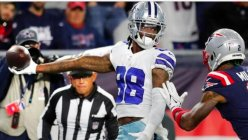 Prescott's TD pass lifts the Cowboys to a 35-29 overtime victory over the Patriots.