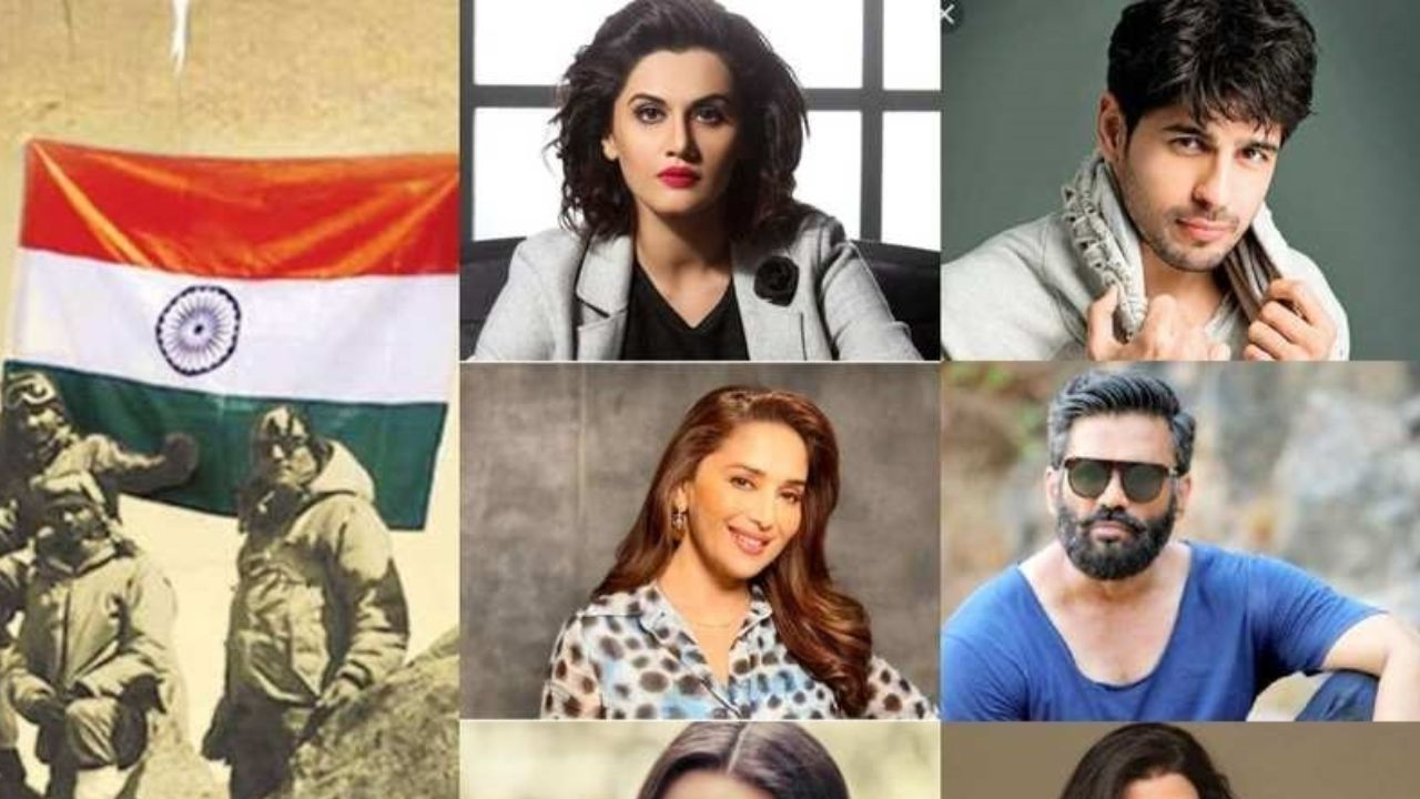 Bollywood celebs hail Kargil heroes celebrating 'Kargil Vijay Diwas'