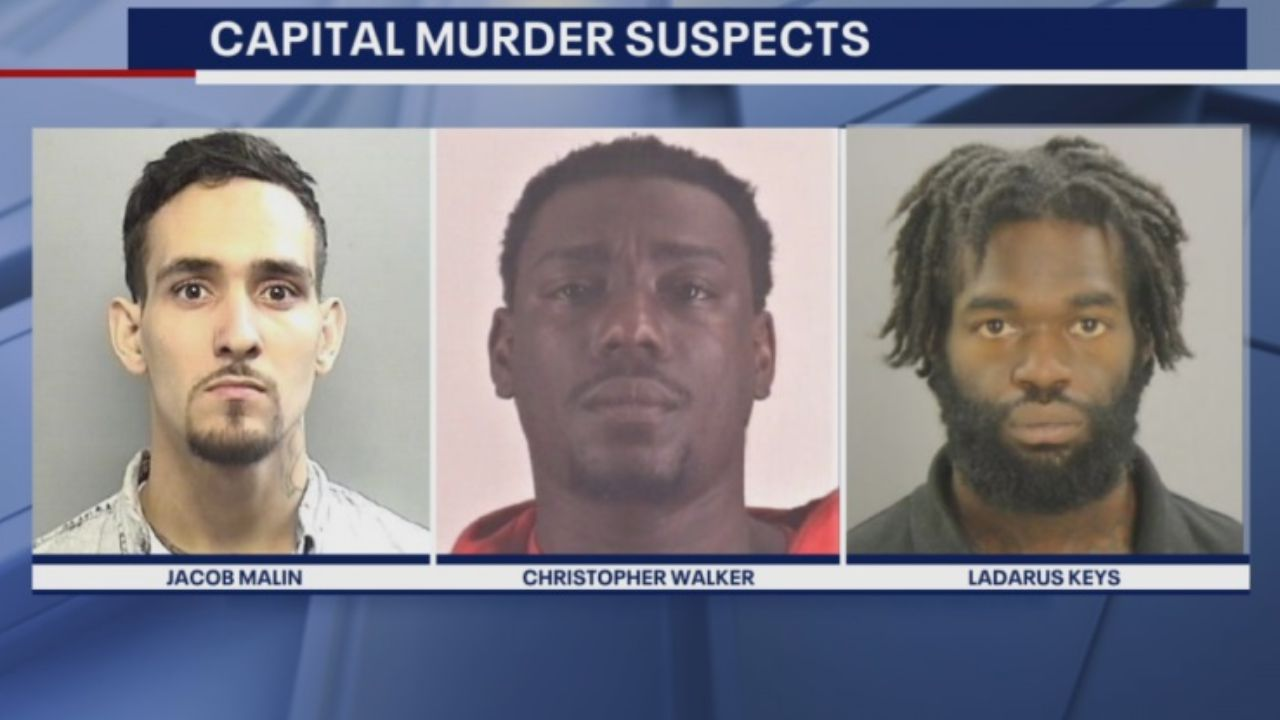 Plano: Three men charged for 2017 murder are now behind bars.