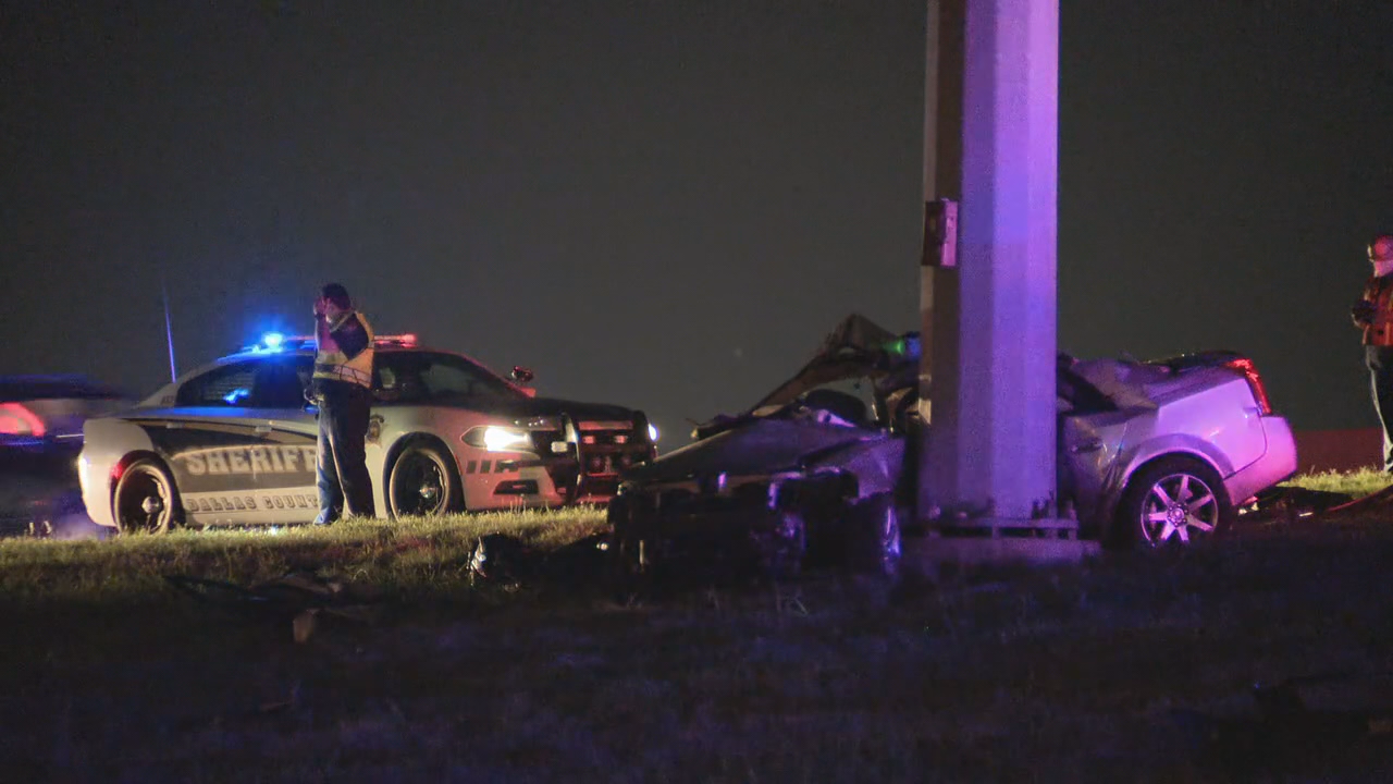 Dallas 39-year old woman dies in street racing crash on I-20