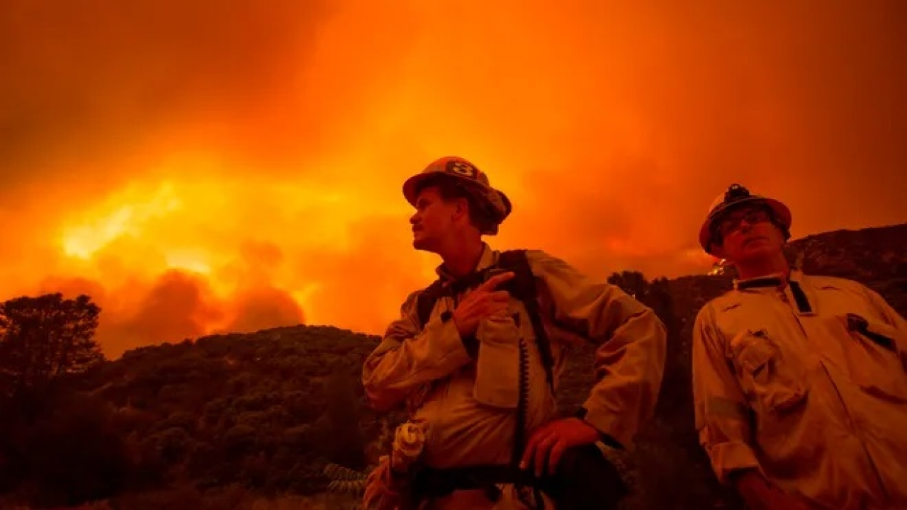 Southern California wildfire described as 'hard to predict' continue to rage Friday