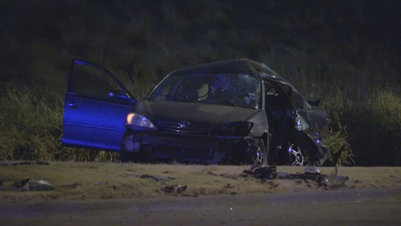 Driver to be charged with intoxication manslaughter after a deadly crash Friday night