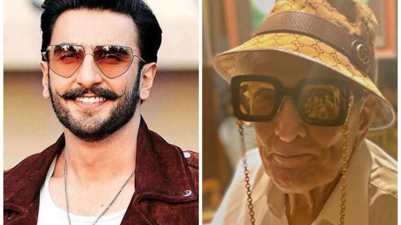Actor Ranveer Singh's grandfather is a stylish man too