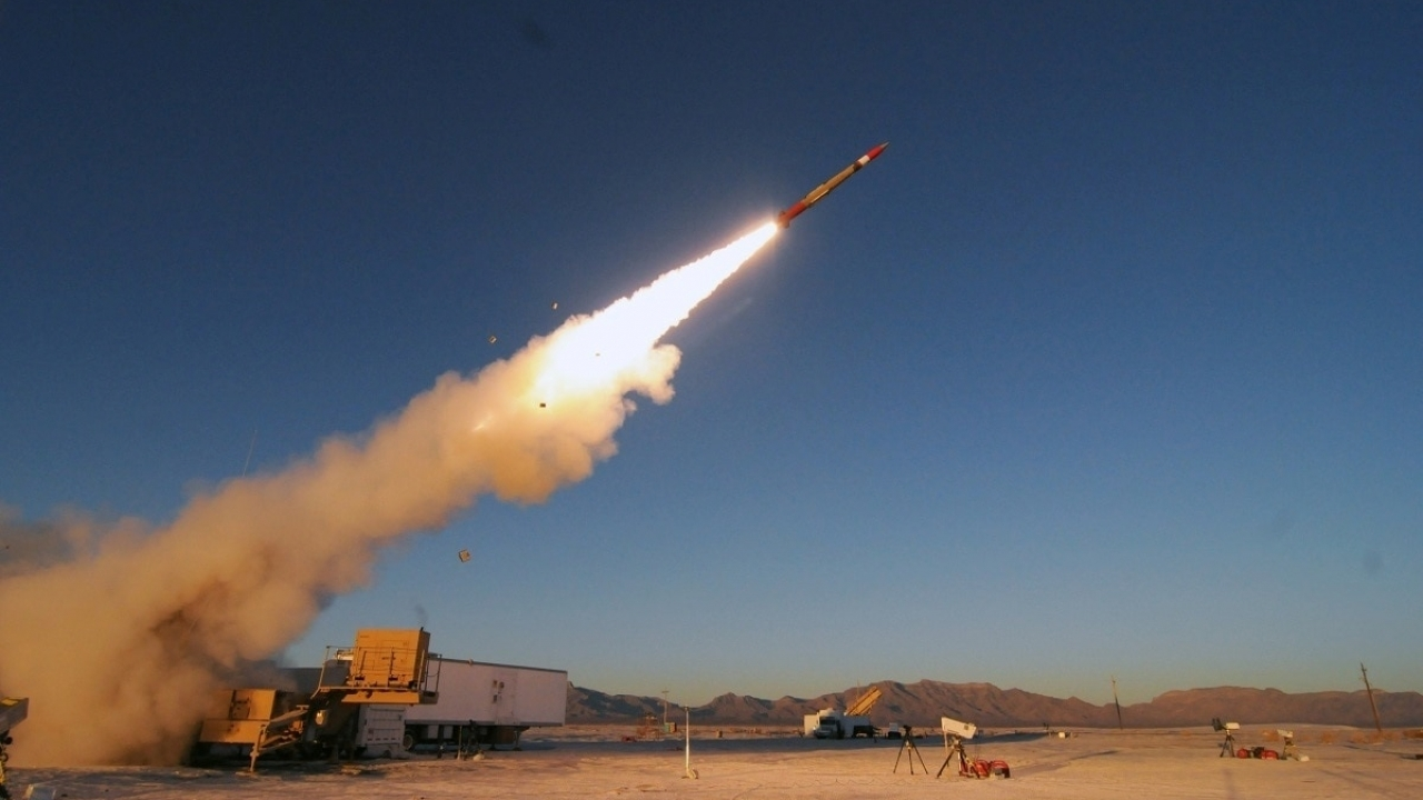 The advanced variant of Patriot missile misfired during a major test of US's command system