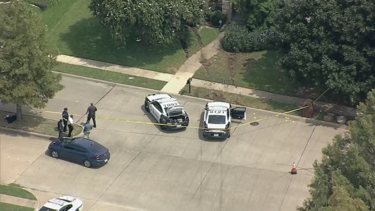 Dallas Police officers shoot 58-year old murder suspect after chase ends in Mesquite