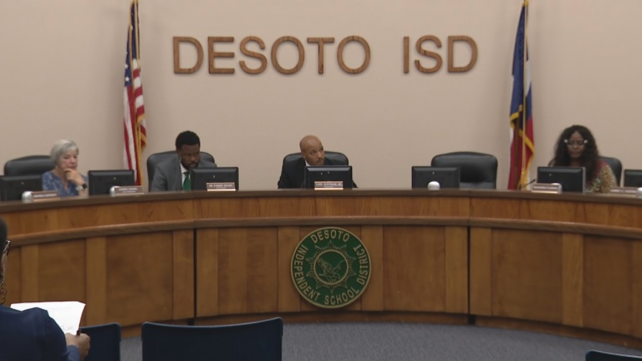 Special meeting to reconsider resignation of Desoto ISD superintendent scheduled for this day